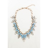 PRIMANEQUEEN Kalung [PQ-1189] - Blue - Kalung / Necklace